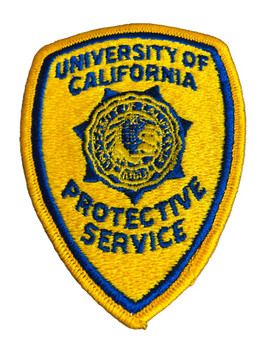UNIV OF CALIFORNIA PROTECTIVE SERVICES PATCH
