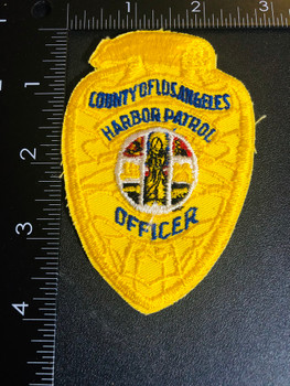 LOS ANGELES HARBOR PATROL POLICE PATCH