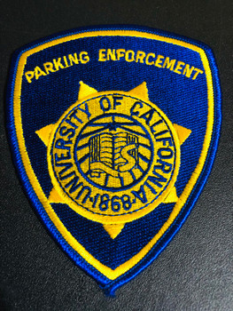 UNIV OF CA PARKING POLICE PATCH
