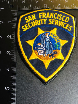 SAN FRANCISCO POLICE SECURITY PATCH