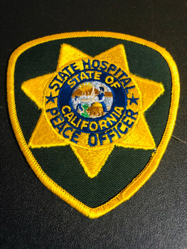 CA STATE HOSPITAL POLICE PATCH