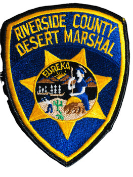 RIVERSIDE CA MARSHAL PATCH