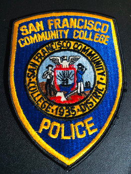 SAN FRANCISCO COLLEGE POLICE PATCH