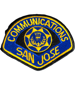 SAN JOSE CA POLICE PATCH