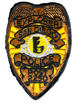 SAN DIEGO CA POLICE EXPLORER PATCH