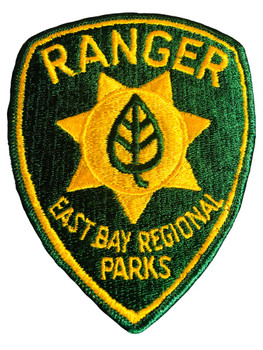 EAST BAY CA PARKS POLICE PATCH