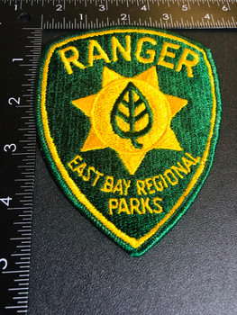 EAST BAY CA PARKS RANGER PATCH