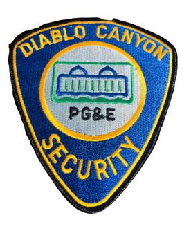 DIABLO CANYON CA SECURITY PATCH