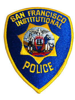 SAN FRANCISCO CA INSTITUTIONAL POLICE PATCH