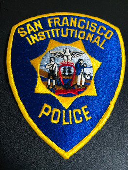 SAN FRANCISCO CA INSTITUTIONAL POLICE PATCH RARE