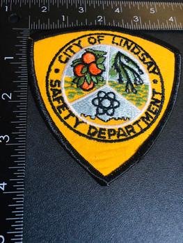 LINDSAY CA SAFETY PATCH