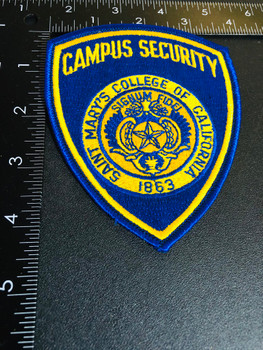 ST MARY'S CA COLLEGE POLICE PATCH