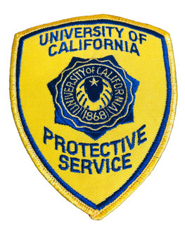 UNIV OF CALIFORNIA PROTECTIVE SERVICES PATCH 2