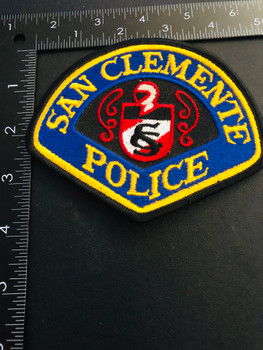SAN CLEMENTE CA POLICE RARE EXTINCT