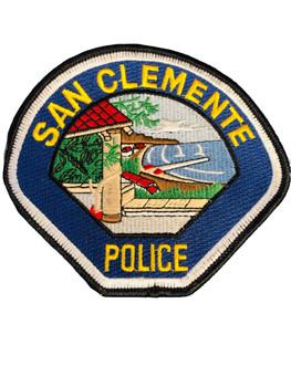 SAN CLEMENTE CA POLICE RARE EXTINCT 2