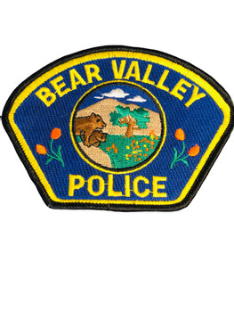 BEAR VALLEY POLICE CA OLD SCHOOL PATCH