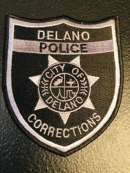 CITY OF DELANO CA CORRECTIONS PATCH
