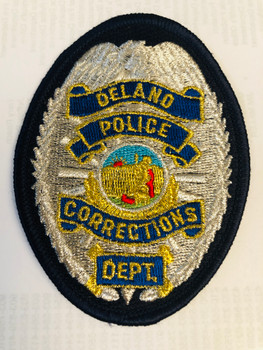 DELANO POLICE CA CORRECTIONS BADGE PATCH