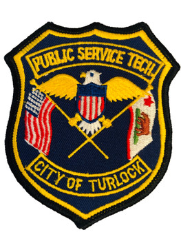 CITY OF TURLOCK POLICE CA PATCH