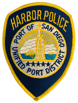 PORT OF SAN DIEGO HARBOR POLICE CA PATCH