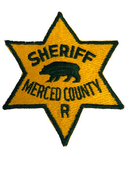 SHERIFF MERCED COUNTY CA PATCH