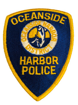 OCEANSIDE HARBOR POLICE CA PATCH