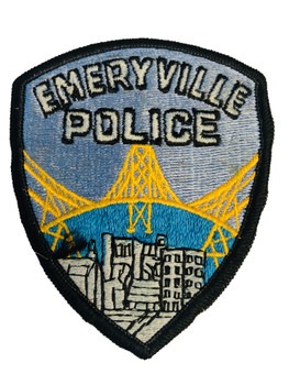 EMERYVILLE POLICE CA PATCH