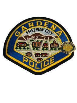 GARDENA POLICE CA PATCH