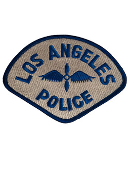 LOS ANGELES POLICE CA MOTOR UNIT PATCH