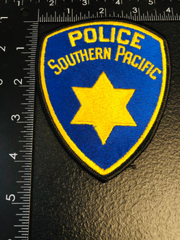 SOUTHERN PACIFIC POLICE CA PATCH