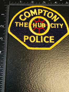 COMPTON POLICE CA PATCH