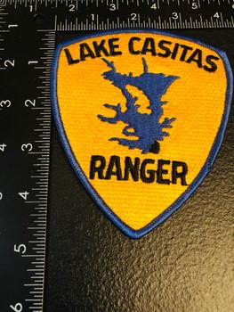 LAKE CASITAS CA RANGER PATCH