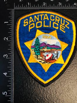 SANTA CRUZ CA POLICE CA PATCH