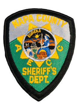 NAPA COUNTY SHERIFF'S DEPT CA PATCH