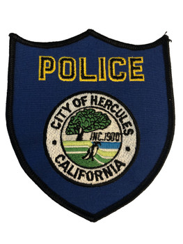 HERCULES POLICE CA PATCH
