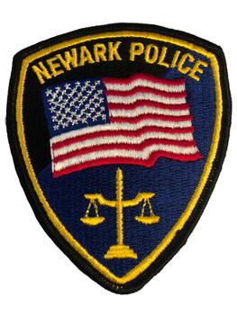 NEWARK POLICE CA PATCH