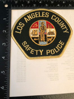 LOS ANGELES CTY SAFETY POLICE  PATCH