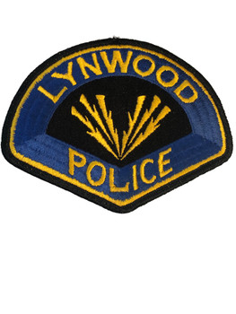 LYNWOOD CA POLICE PATCH