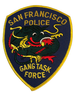 SAN FRANCISCO CA POLICE GANG PATCH