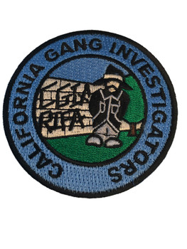 CALIFORNIA GANG VATO PATCH