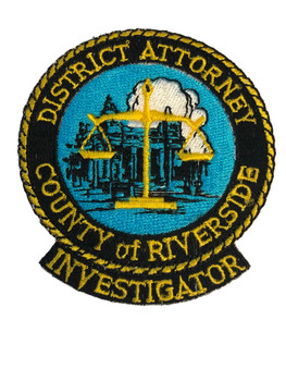 RIVERSIDE CTY DISTRICT ATTORNEY PATCH