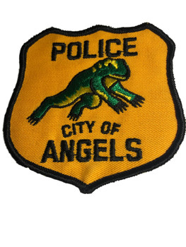 ANGLES CA POLICE PATCH