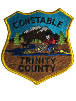 TRINITY CTY CA CONSTABLE PATCH