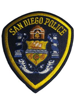 SAN DIEGO POLICE CA BLUE PATCH