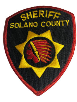 SOLANO CTY SHERIFF CA PATCH
