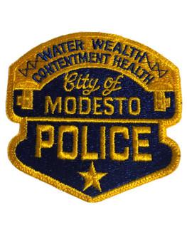 MODESTO CA POLICE PATCH