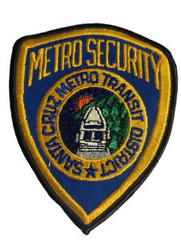 SANTA CRUZ METRO SECURITY CA PATCH