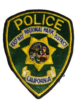 EAST BAY PARK  CA POLCE PATCH