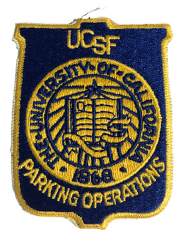 UNIV. OF CA SF PARKRING PATCH