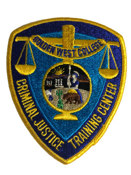GOLDEN WEST COLLEGE CA TRAINING PATCH BLUE
